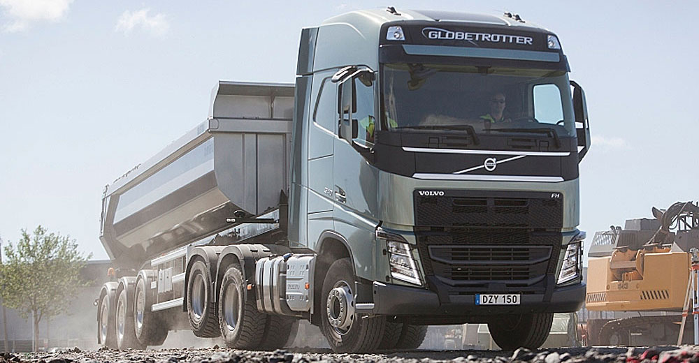 Volvo FH 6x4 eje elevable