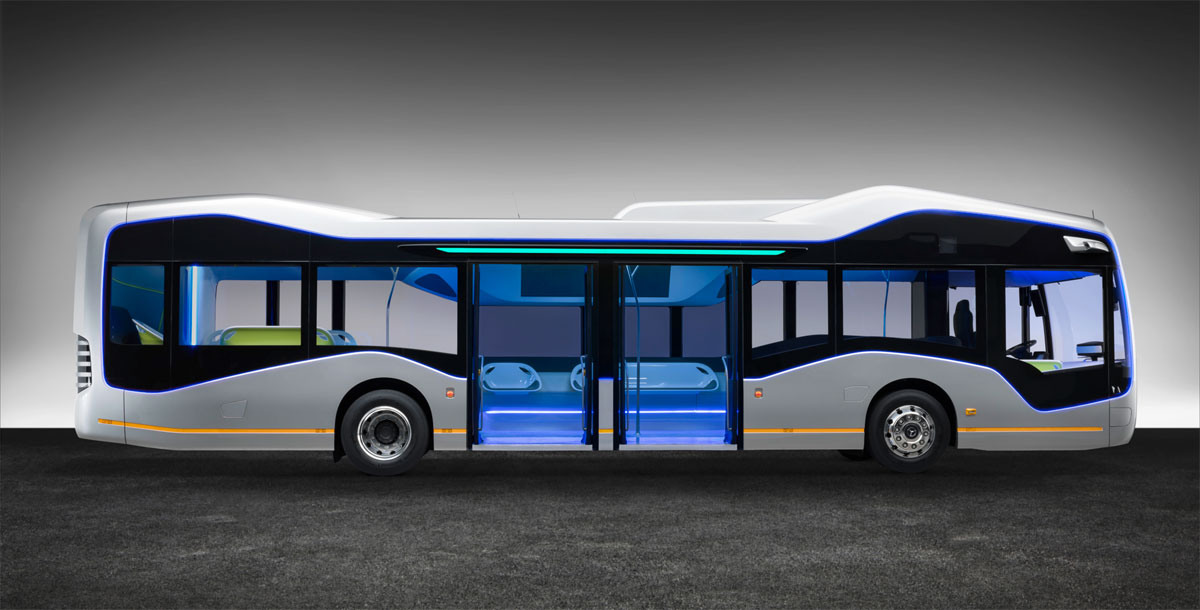 Future Bus de Mercedes-Benz lateral