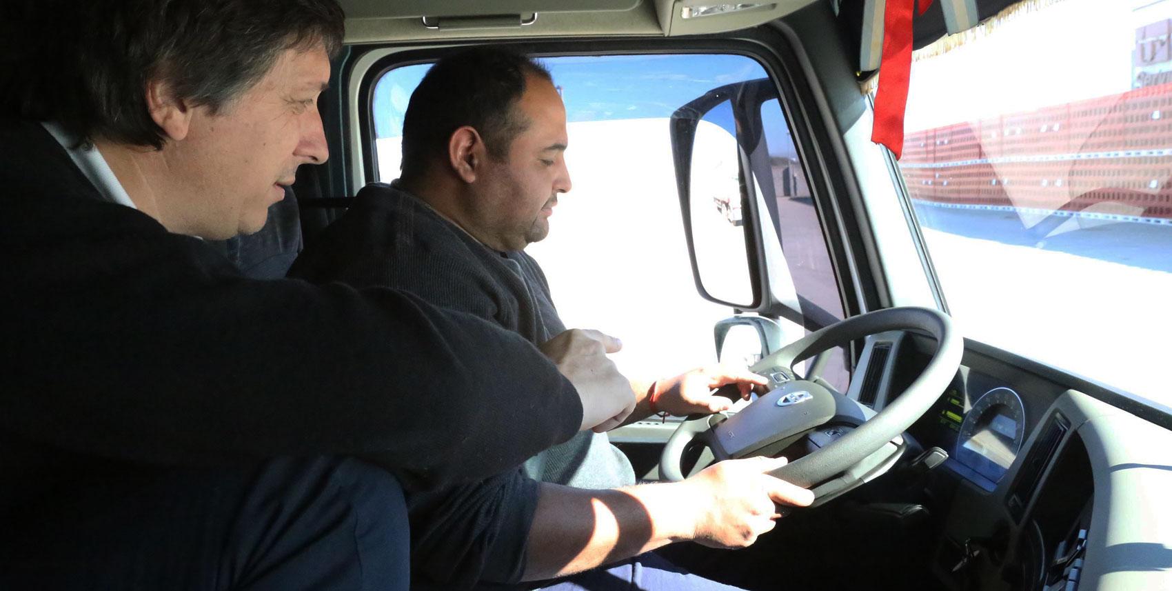 Volvo entrena conductores para mejorar la productividad