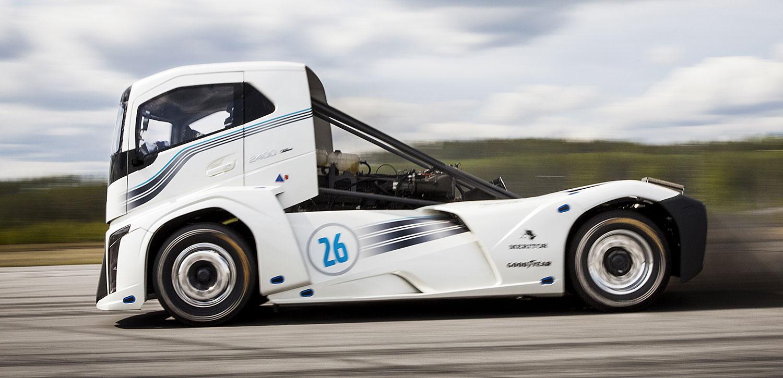 Volvo Iron Knight el camión más rápido del mundo