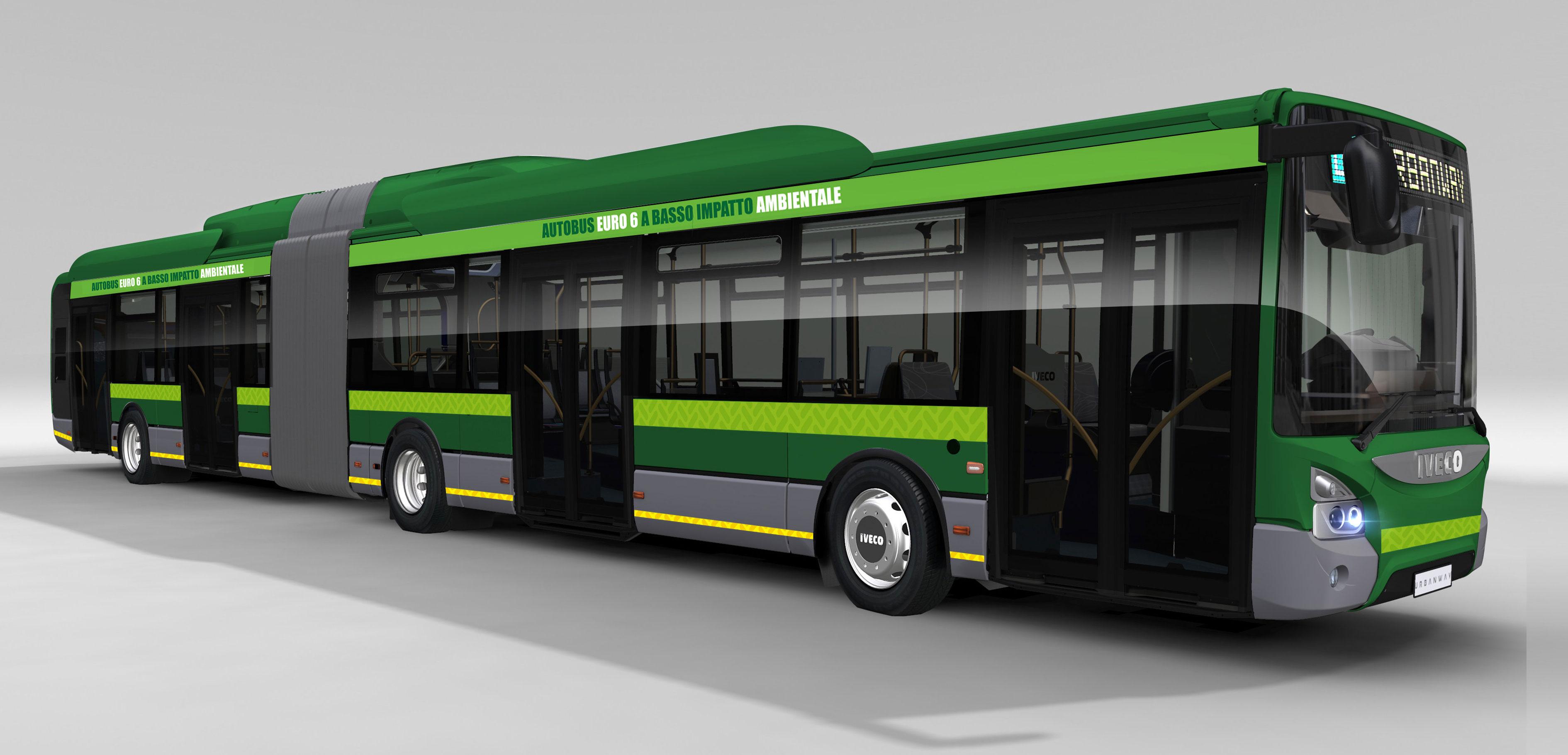 IVECO le entregará 120 autobuses híbridos y 42 camiones con GNC a la ciudad de Milán
