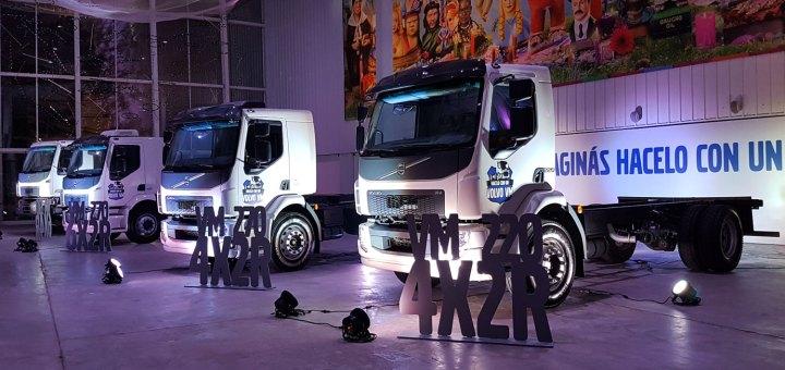 presentacion camiones Volvo VM