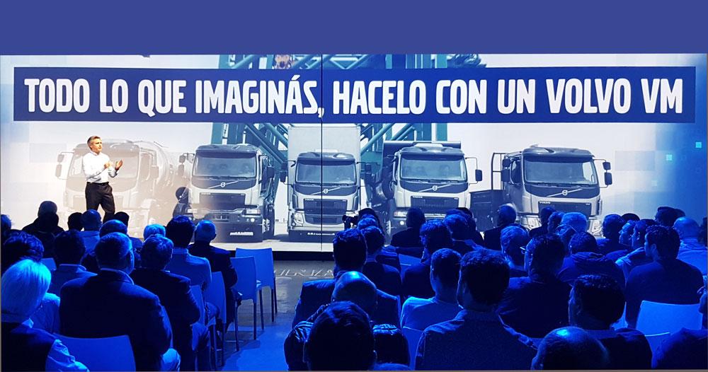 presentación de la gama VM de Volvo Trucks
