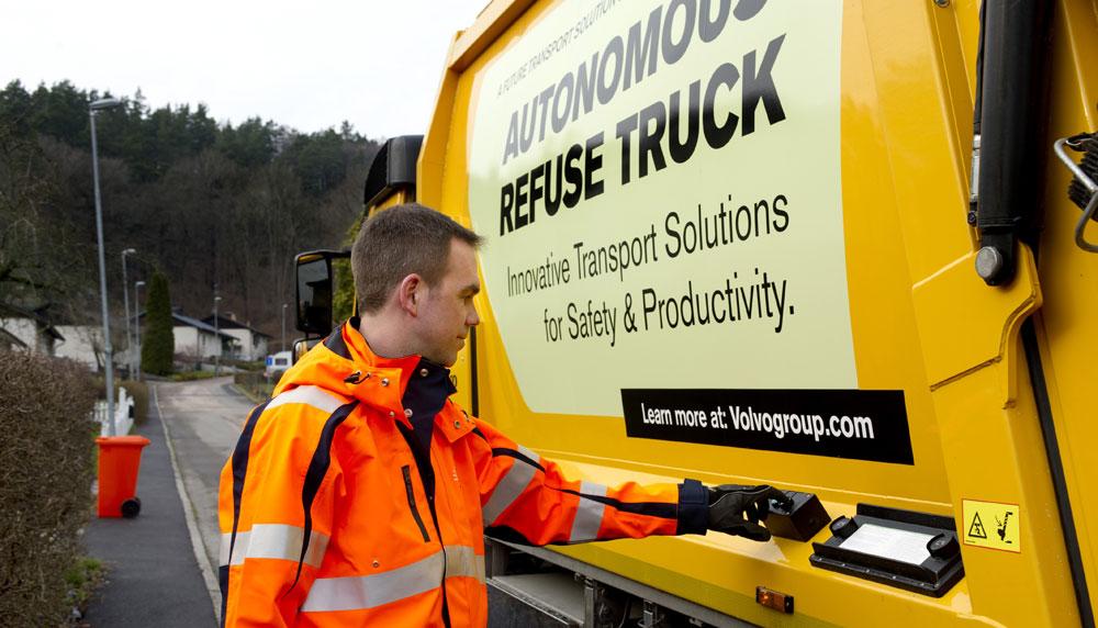 volvo trucks residuos