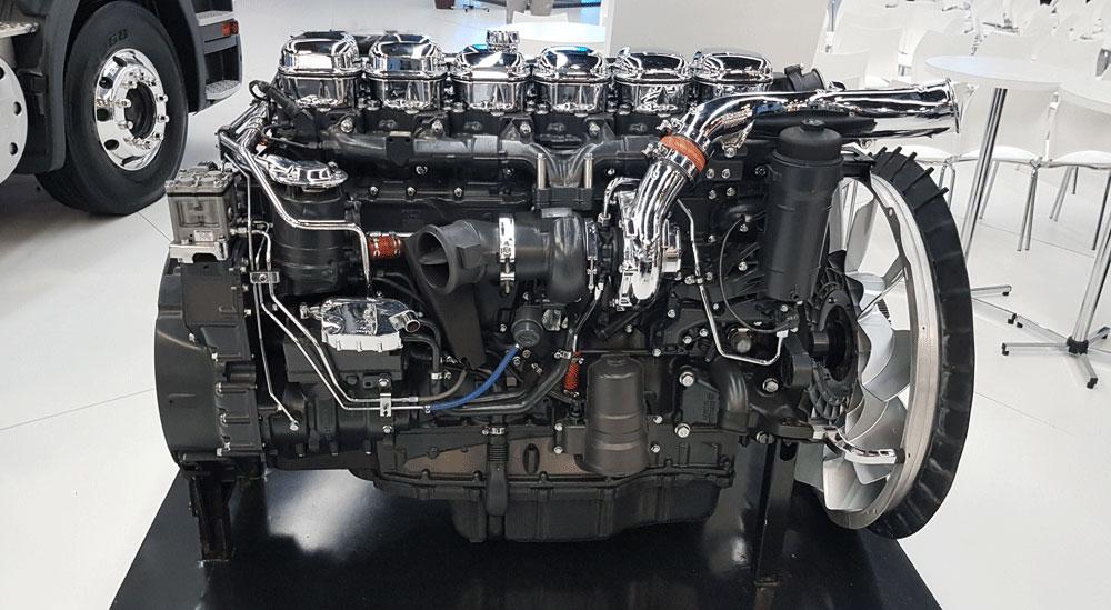 motores scania