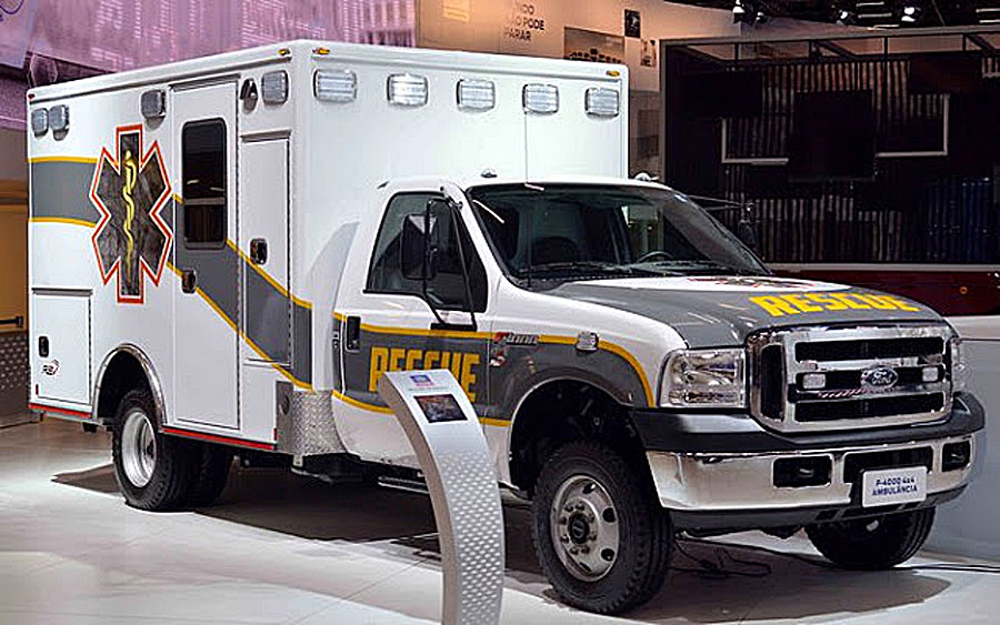 ford ambulancia