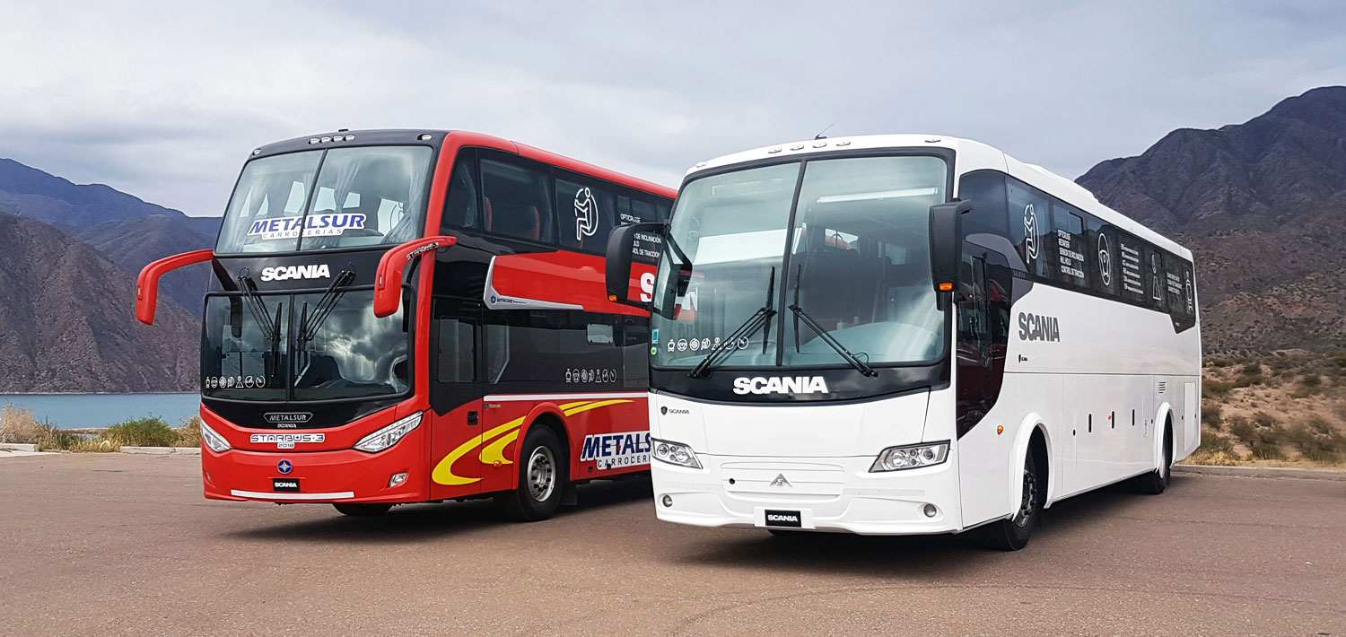 buses scania