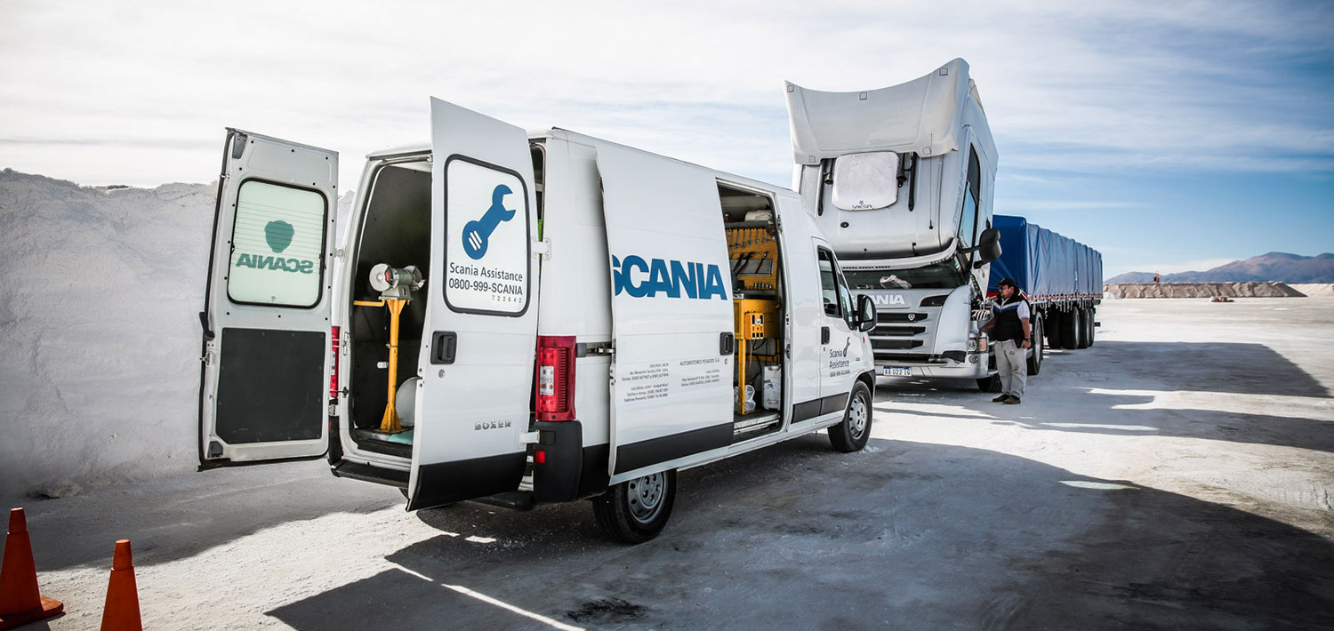 scania assistance