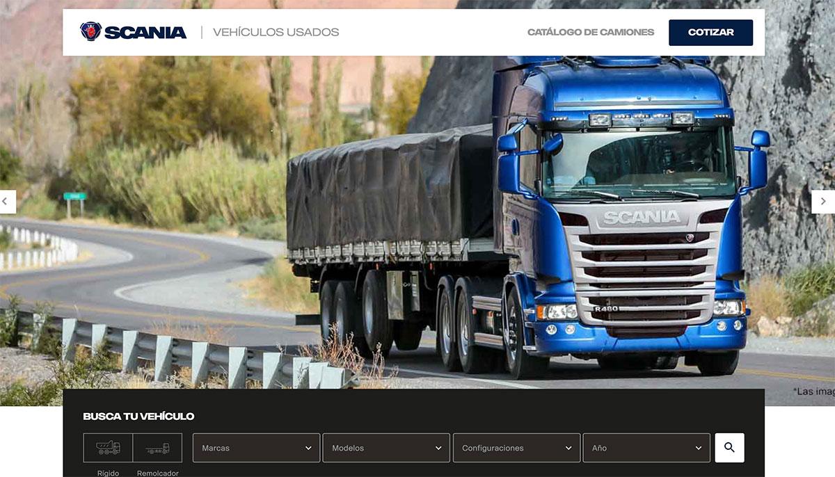 camiones usados scania