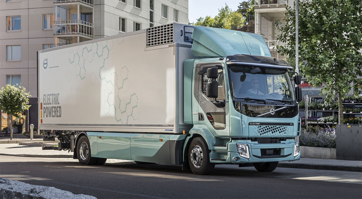 electric volvo trucks