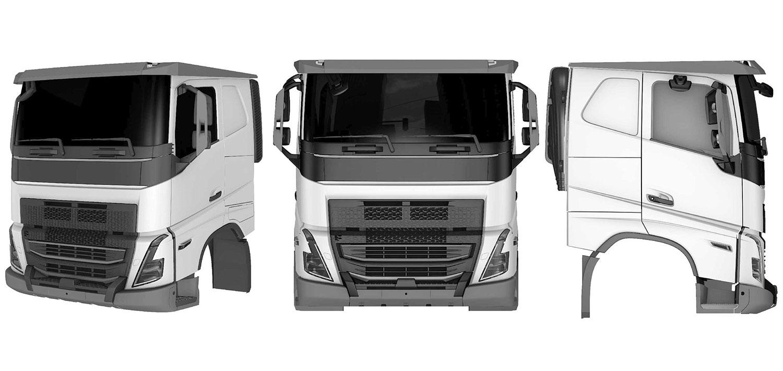 nueva cabina volvo trucks