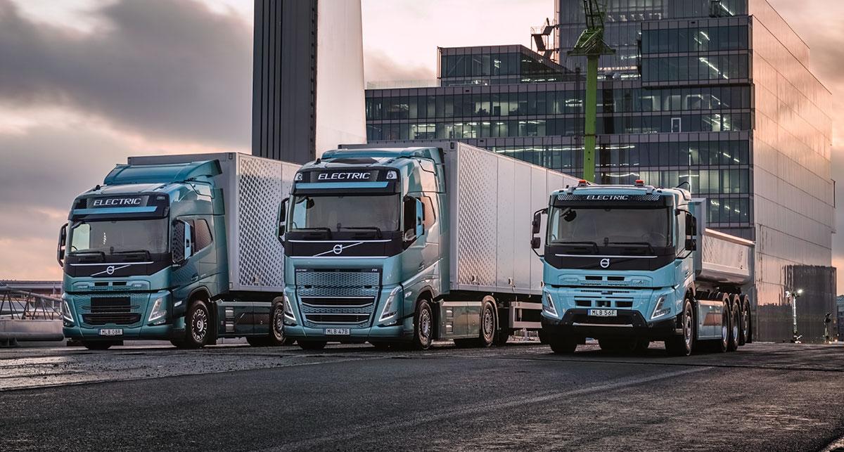 volvo trucks electrico