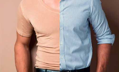 camiseta anti suor