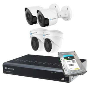 Camius 4 camera security system 8P2B2I4T
