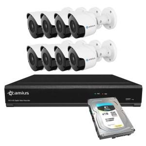 Camius 8mp security camera system