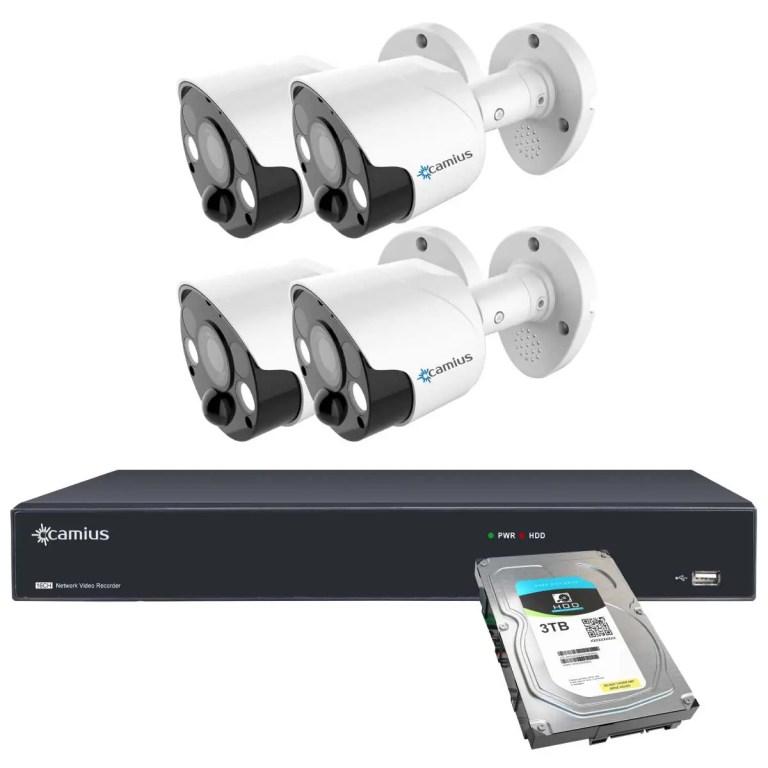 Camius security camera system