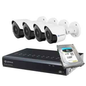 Camius 5mp security camera system 8P4B4T