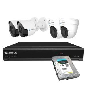 Camius Camius 4k security cameras 8 channel dvr system