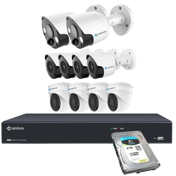 Camius surveillance cameras 16PP2S84B4I4T
