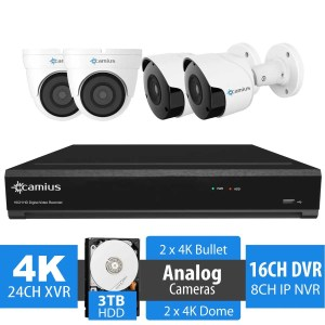 24 channel dvr security system 24k2b2d3t