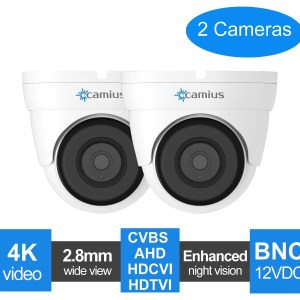 dome cctv camera 2-pack-fd4katc-camius