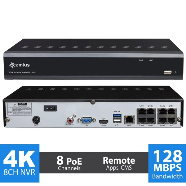 nvr network video recorder camius
