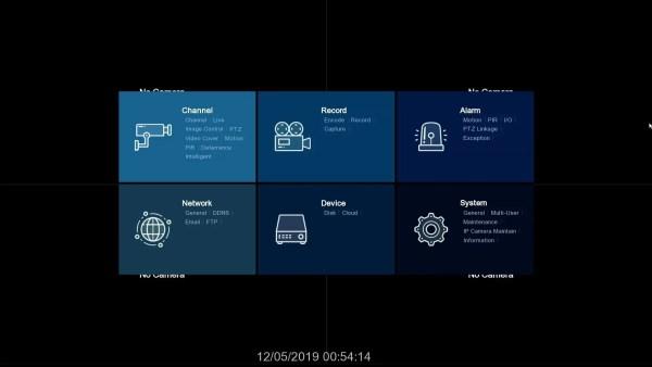 IPVAULT2320P16-Startup window