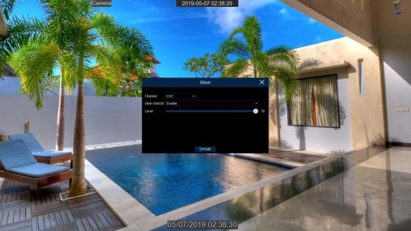 PoE spotlight surveillance camera 16 channel nvr
