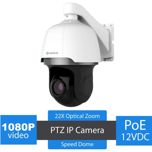 Outdoor PTZ IP camera -1080P 22x Zoom Speed Dome - SCOUT22PTZ