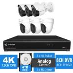 4k security system 124K3B3D4T