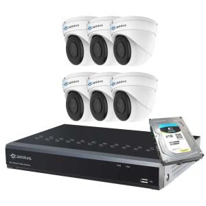 Camius dome security camera system 8P6I4T