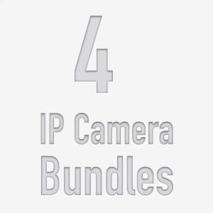 4 Camera PoE NVR Kits