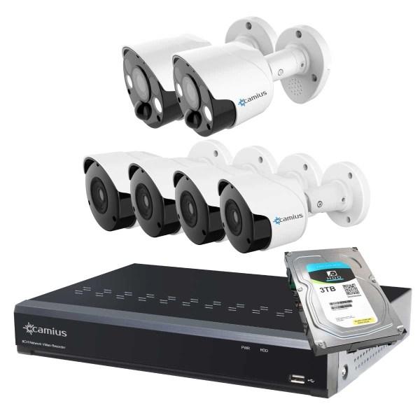 Camius spotlight camera system 8P2S84B3T 51121