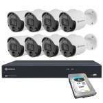 Spotlight security cameras - 16PN8S8R4T