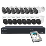 Camius 16 channel ip security camera system 16PN8B8I5R4T