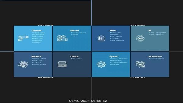 IPVAULT1128PR startup menu