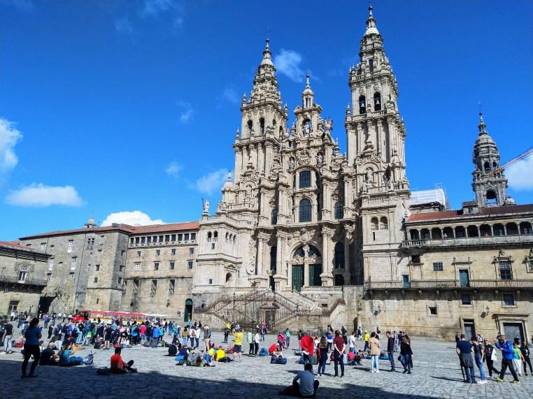 Santiago de Compostela, la Meta