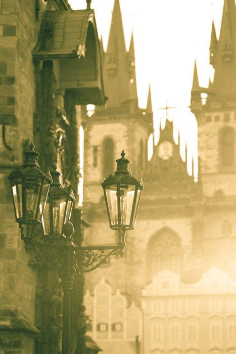Foggy Morning, Prague, Czech Republic