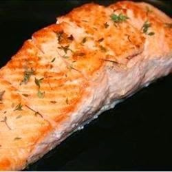 Pasta – Thyme Salmon With Sage Pasta