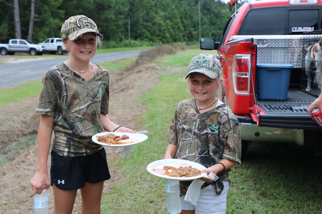 Children of all ages attend opening day of dove season in South Carolina