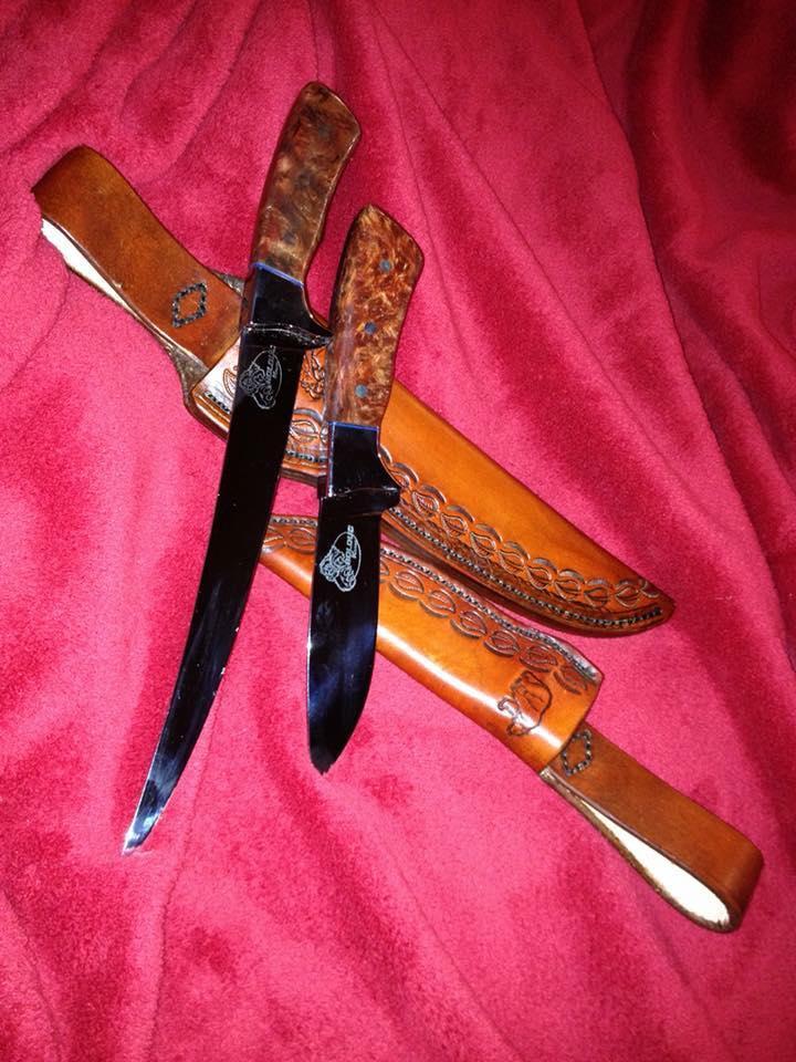 custom knives and sheaths