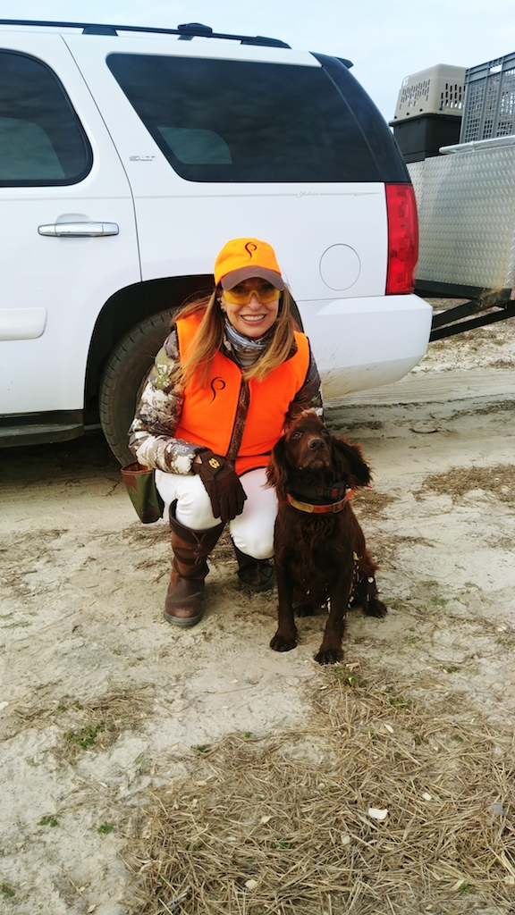 girls who hunt quail
