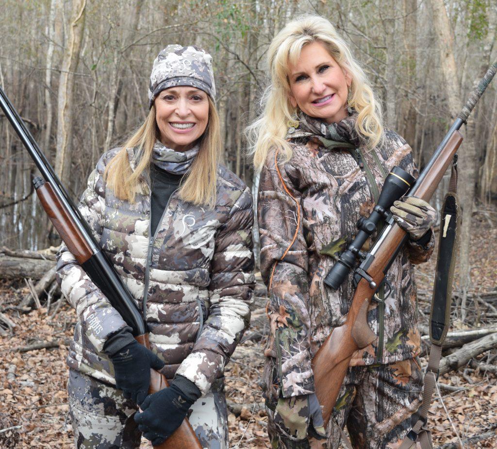 two huntresses predator hunting