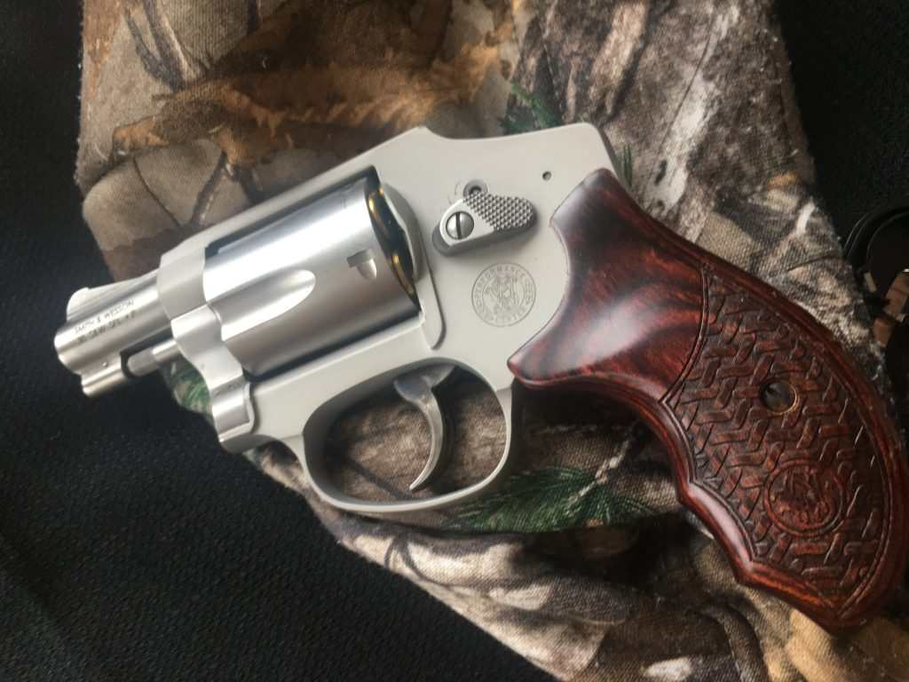 what kind of handgun should you carry when hunting