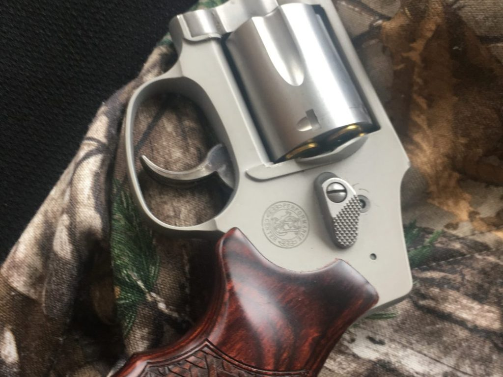 Smith and Wesson handgun is an important item to have when hunting