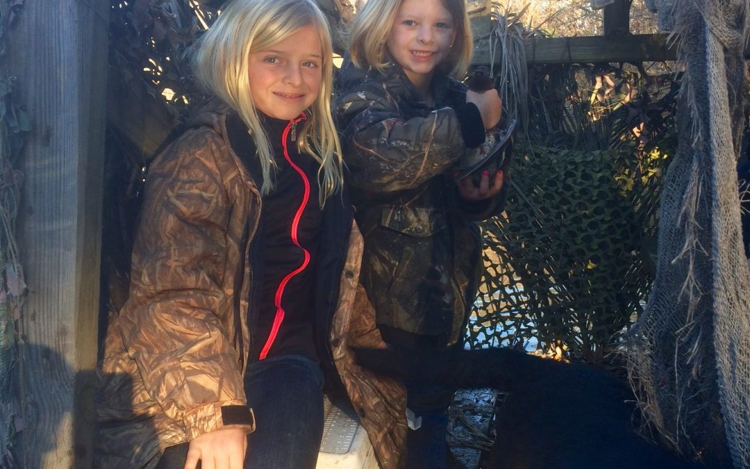 Two Sweet Young Duck Hunters