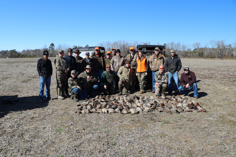 A great hunt was had by all at duck/pheasant camp