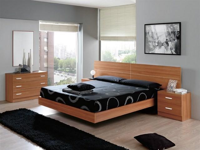 Dormitorios de matrimonio con y sin armario completos o por piezas