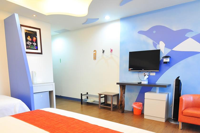 海豚3人房