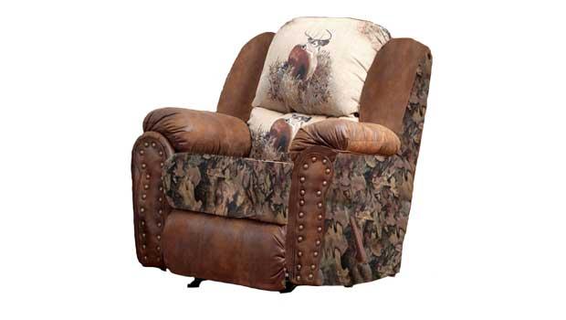 camo recliner chair canoe chairs walmart